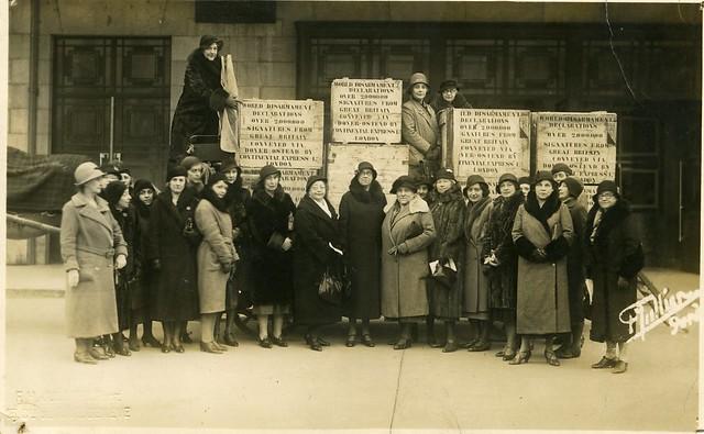 British WILPF members, 1932