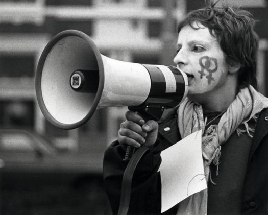 Pro abortion demonstration 1981